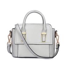 Ladies PU Handbag with Metal Handle, China Leading Handbag Manufacturer