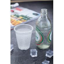 Одноразовые пластиковые прозрачные стаканчики на 9 унций