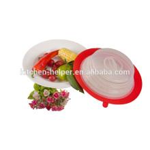 Nuevos productos accesorios de cocina de topper de placa de silicona