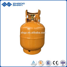 9KG Cooking Welded Steel Low Pressure LPG Gas Cylinder Tank with Factory Prices