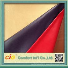 Couro sintético chinês para uso de sapatos