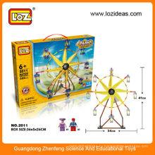 LOZ DIY колесо обозрения пластик строительные блоки кирпич игрушки