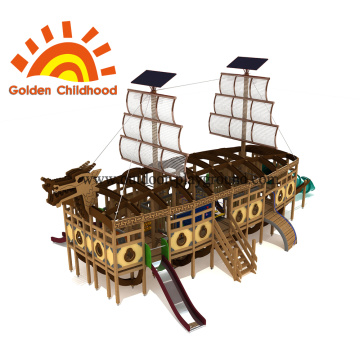 Dragon Boat Outdoor Playground Equipment en venta