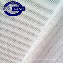 polyester anti-static clothing knit mesh fabric for wipes gloves labor work shirts