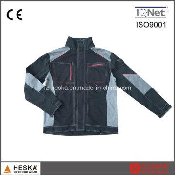 Vendas por atacado Super qualidade 100% algodão homens jaqueta de trabalho