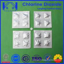 Piscines Désinfectant Comprimés à base de dioxyde de chlore 20G