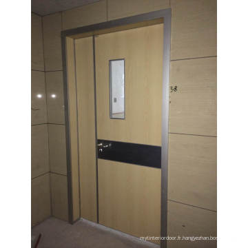 Porte intérieure en bois composite, porte intérieure Guangzhou