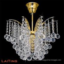 Modern butterfly shape pendant light unique crystal ceiling chandelier light