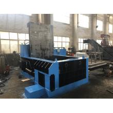 Máquina de enfardamento de perfis de alumínio e sobras de sucata