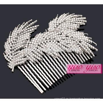 Tiara nupcial por encargo de la alta calidad del casco de la boda