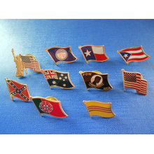 Different Flag Pin, Flag Metal Badge (GZHY-NB-004)