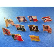 Различный значок флага, значок металла металла (GZHY-NB-004)