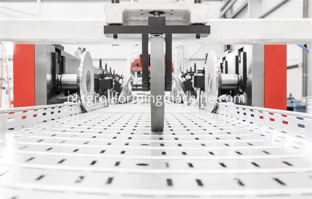 Cable Tray Perforated Machine