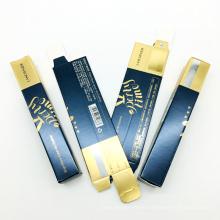Custom Biodegradable Cardboard Paper Luxurylipgloss Lipstick Packaging Box