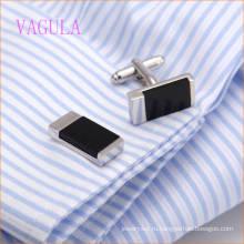 VAGULA мода площадь Свадебная рубашка запонки Men′s запонка