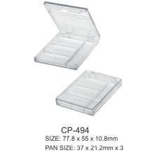 Square Plastic Compact Case Cp-494