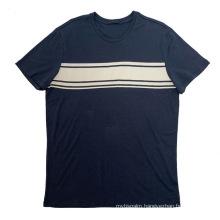 Spring 2021 Men's Basic T-shirt With Front Chest Print Custom men t shirts
