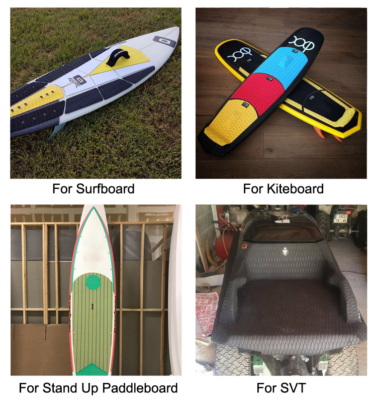 Customized Color New Style EVA Windsurfing Deck Pad