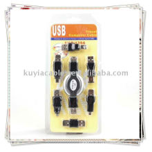 Adaptateur USB 6in1 Kit de voyage câble à Firewire IEEE 1394