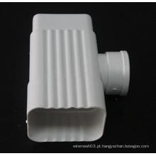 Alta qualidade 6 polegadas K estilo PVC gutter conector