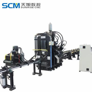 Angle Connecting Plate Punching Shearing Line