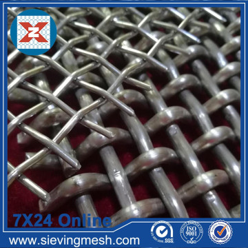 Wire Mesh Skrin Pasir Crimped
