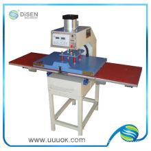 Automatic hydraulic heat transfer machine for skateboard