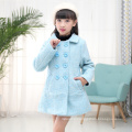 kids coat new year sky blue winter children apparel christmas jackets in bulk high quality girls fashion jackets clothes 2017