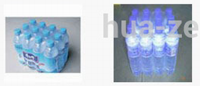 Pure water bottles shrink wrap machine