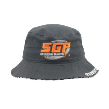 Heavy Brushed Cotton Fisherman Hat with Custom Made Embroidery Logo