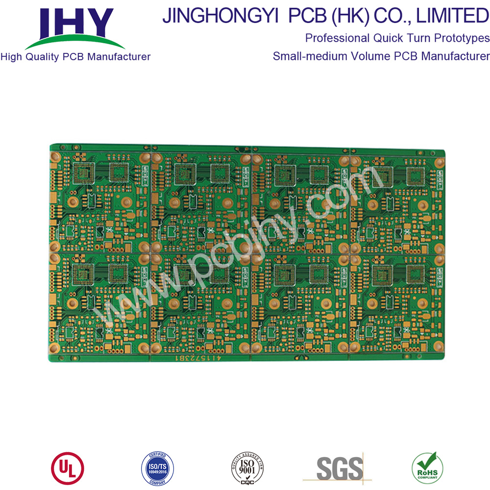 1.2mm Immersion Gold 4L Rigid PCB