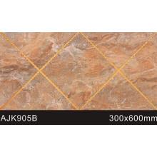 Nuevo diseño de baño de cristal pulido pared de losetas (AJK905B)