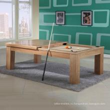 ТБ дома использовать многофункциональный внутренних обеденной бильярдные столы