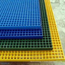 A carga alta moldou o grating Grating da fibra de vidro de FRP / GRP