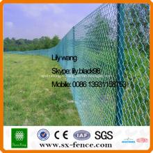 Clôture liée par chaîne enduite par poudre ISO9001
