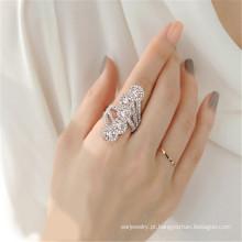 Destino joias cristal de Swarovski anel Shine