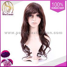 28 Inches Ombre Color Hair Full Lace Brazilian Wig For Black Women
