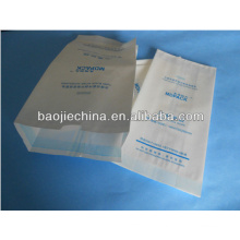 Disposable Heat sealing manicure set Three dimensional sterilized paper packing bag