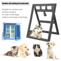 Puppy Pet Screen Door Flap Window para gatos
