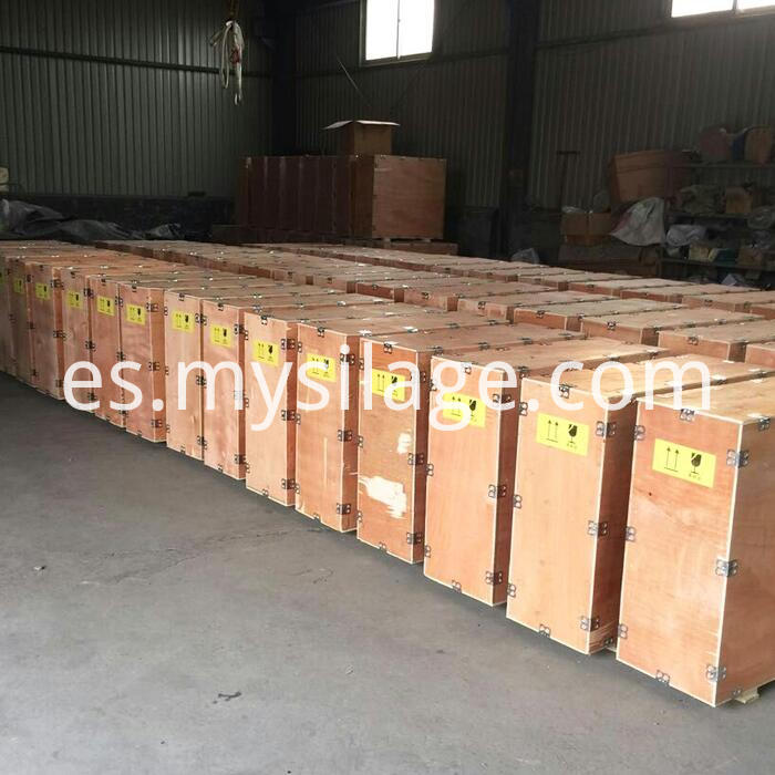 plywood box package milking machine