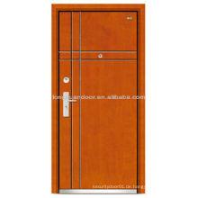 China Stahl Tür niedrigen Preisen Holz Tür Stahl