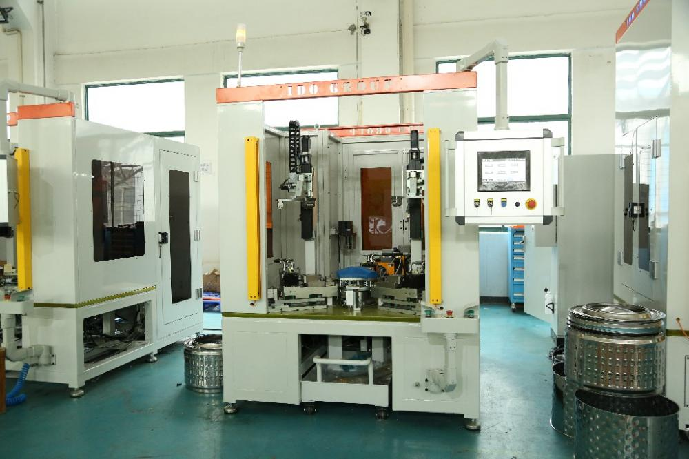 Wm Drum Automatic Line Screwing Machine