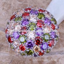 2018 designer platinum wedding rings wedding rings multicolorful stone ring
