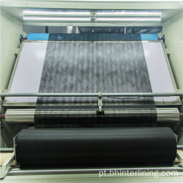 Interlining fusible do papel do ponto para o revestimento