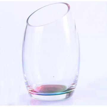 Venta al por mayor Slanted Crystal Lustre Sets Of Glasses