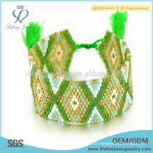 Hot sale bohemian friendship bracelets,bohemian layer wrap bracelet