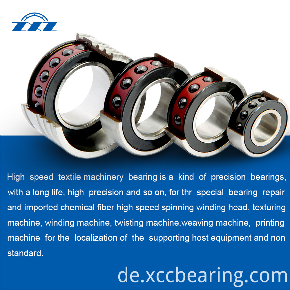 Chemical fiber equipment bearings