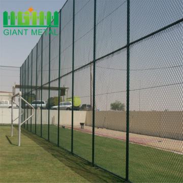 9+Gauge+Galvanized+PVC+Chain+Link+Fence