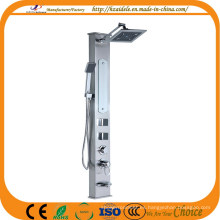 Panel de ducha de acero con grifo termostático (YP-9011)