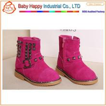 Chaussures de sport en cuir véritable en cuir de classe pour filles